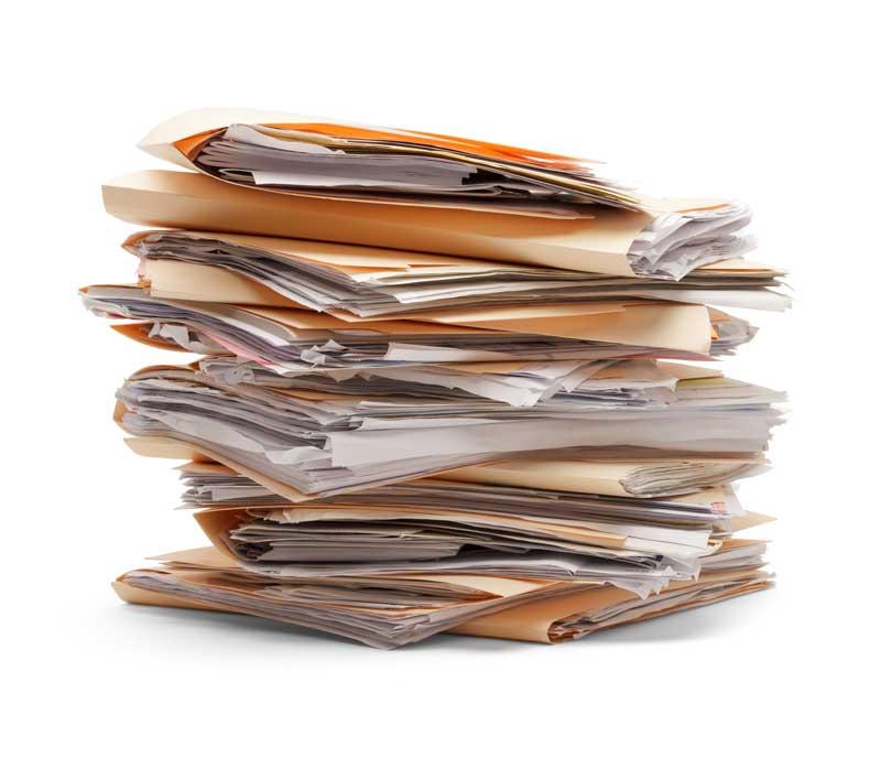 Büro-Booster Papierkram