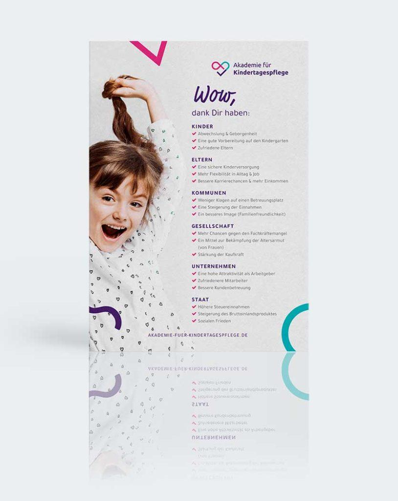 Mockup Plakat Tagesmutter Kundennutzen